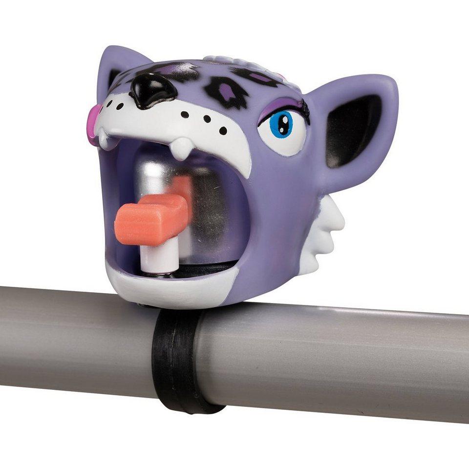 Crazy Safety Fahrradklingel Purple Leopard