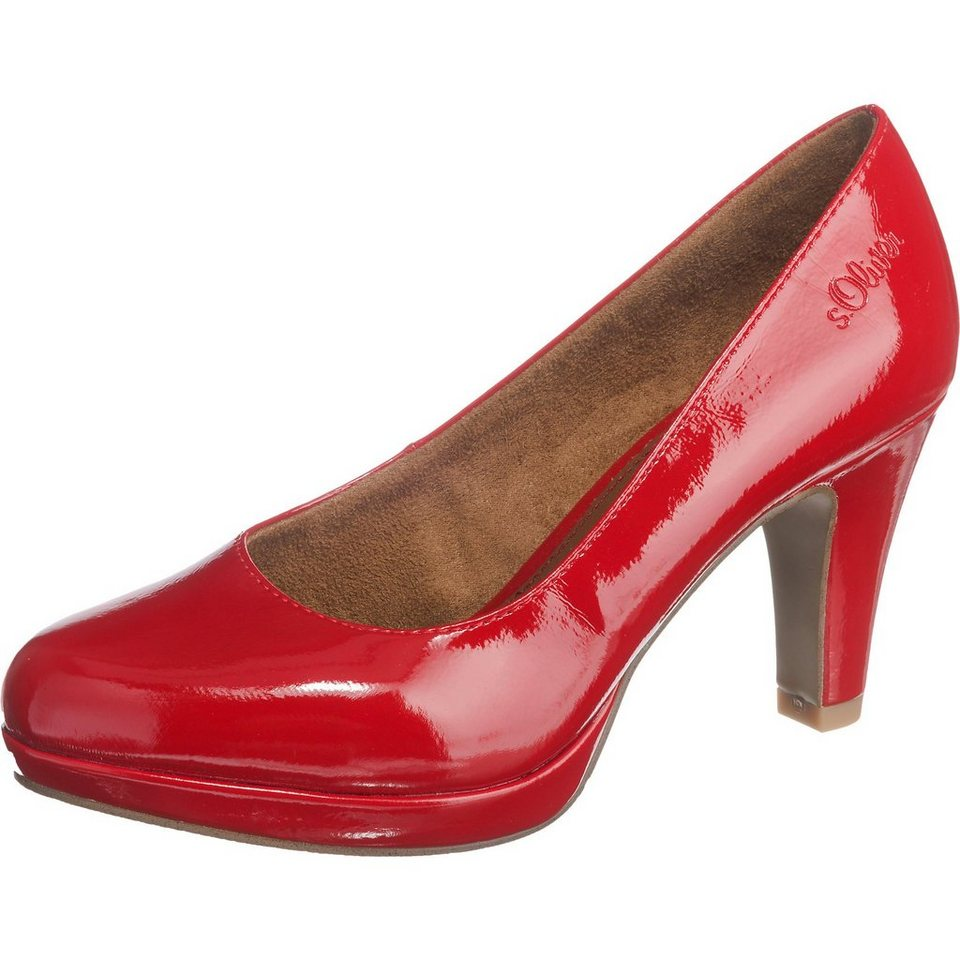 s.Oliver Pumps in rot