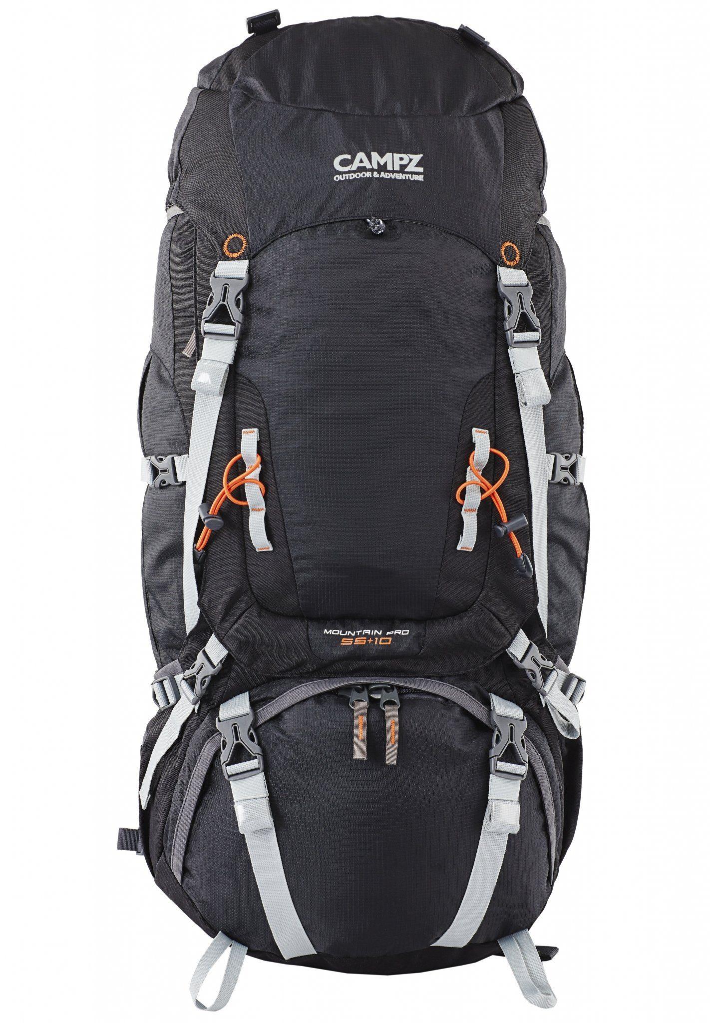 CAMPZ Sport- und Freizeittasche »Mountain Pro Rucksack 55+10L«