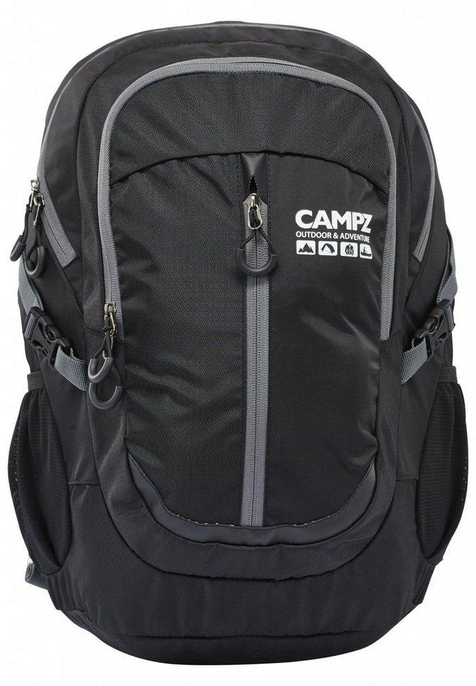 CAMPZ Sport- und Freizeittasche »Mountain Comp Rucksack 30L« in schwarz