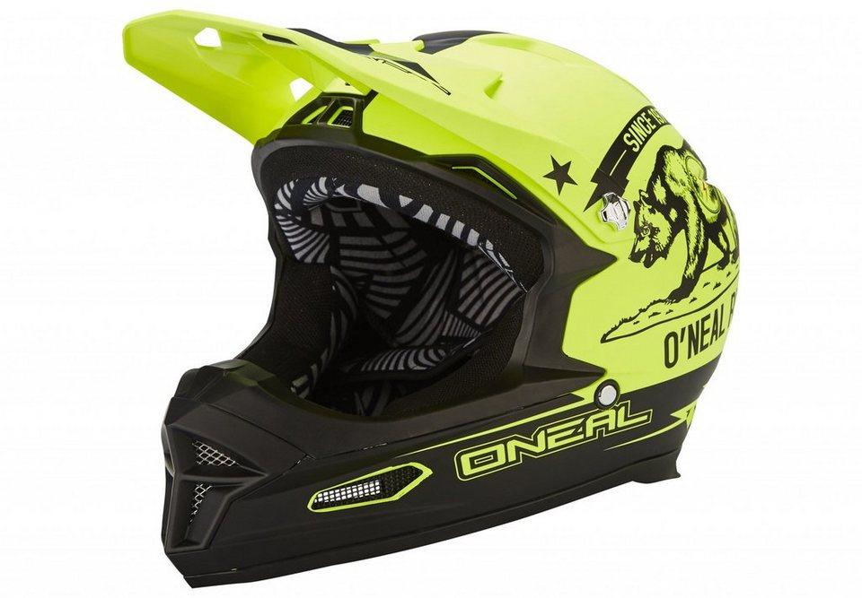 O'NEAL Fahrradhelm »Fury RL Helmet California« in gelb