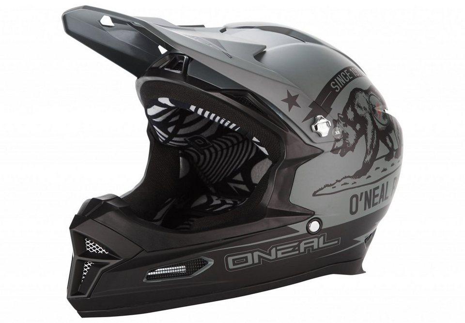 O'NEAL Fahrradhelm »Fury RL Helmet California« in grau