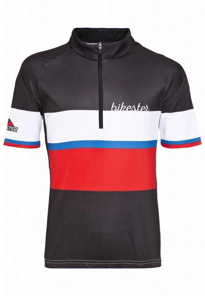 Bikester Trikot »Basic Team Jersey Kids« in schwarz