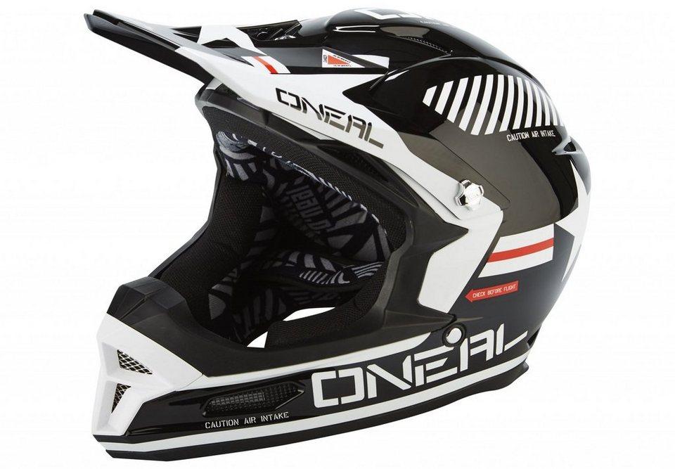 O'NEAL Fahrradhelm »Fury RL Helmet Afterburner« in schwarz