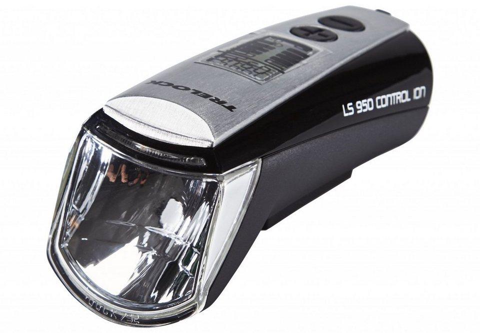 Trelock Fahrradbeleuchtung »LS 950 Control ION Frontscheinwerfer schwarz«