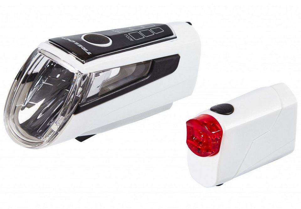 Trelock Fahrradbeleuchtung »LS 560 I-GO CONTROL+LS 720 REEGO«