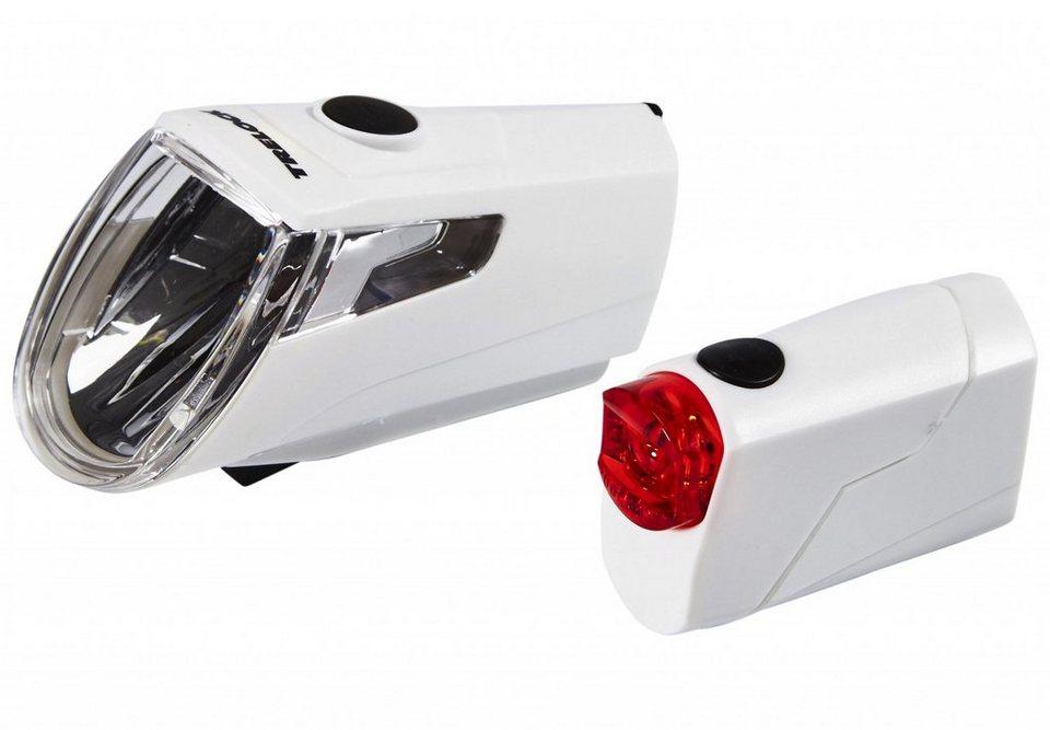 Trelock Fahrradbeleuchtung »LS 360 I-GO ECO+LS 720 REEGO Akkubeleuchtung-Set«