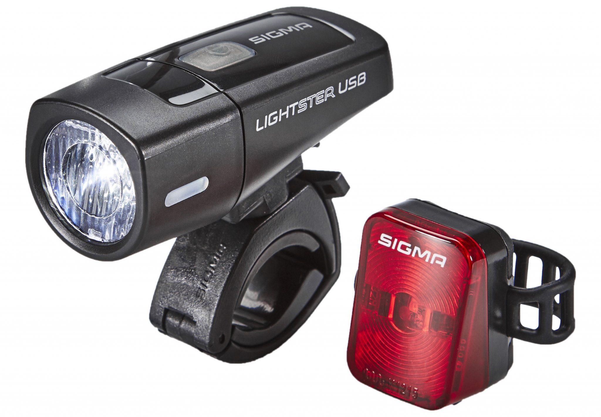 Sigma Sport Fahrradbeleuchtung »Lightster/Nugget Beleuchtungsset«