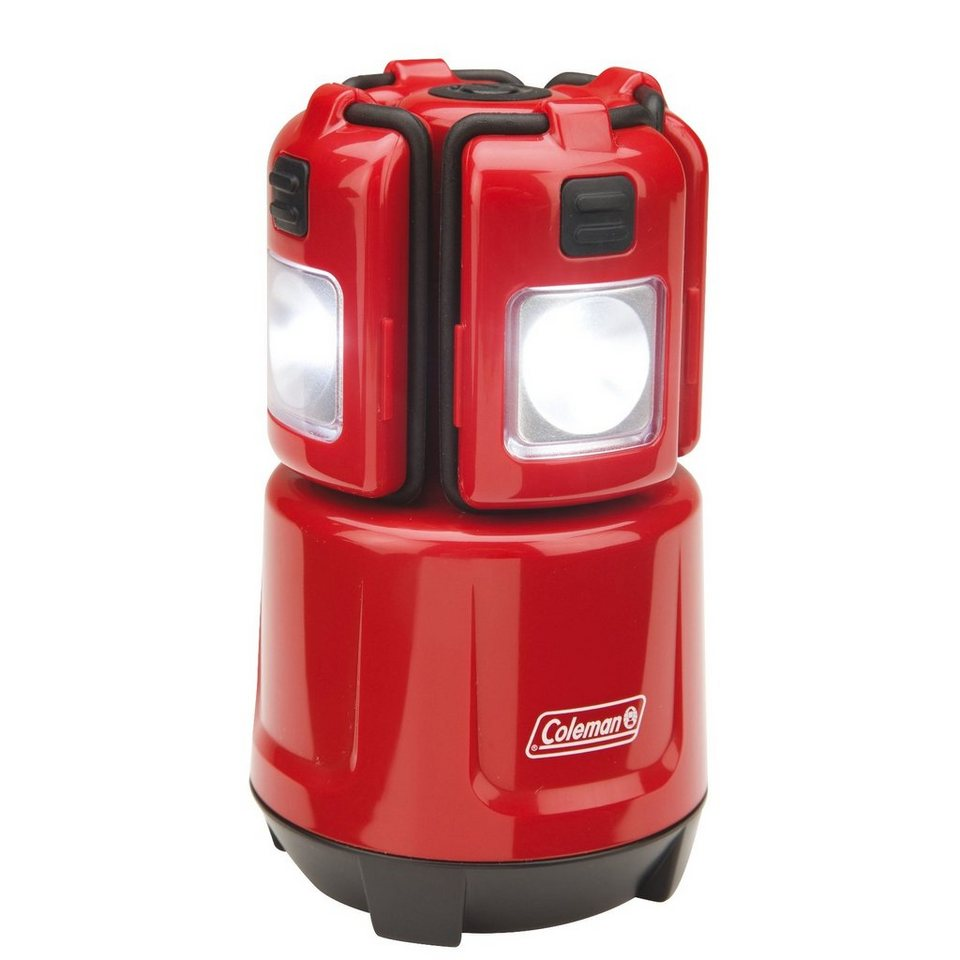 COLEMAN Camping-Beleuchtung »LED Micro Quad Lantern« in rot