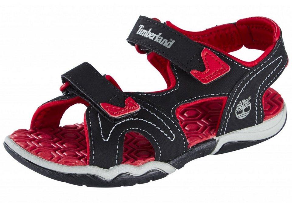 Timberland Sandalen »Adventure Seeker Sandals Youth 2-Strap« in schwarz