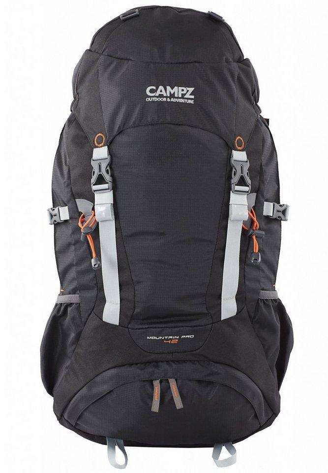 CAMPZ Sport- und Freizeittasche »Mountain Pro Rucksack 42L« in schwarz