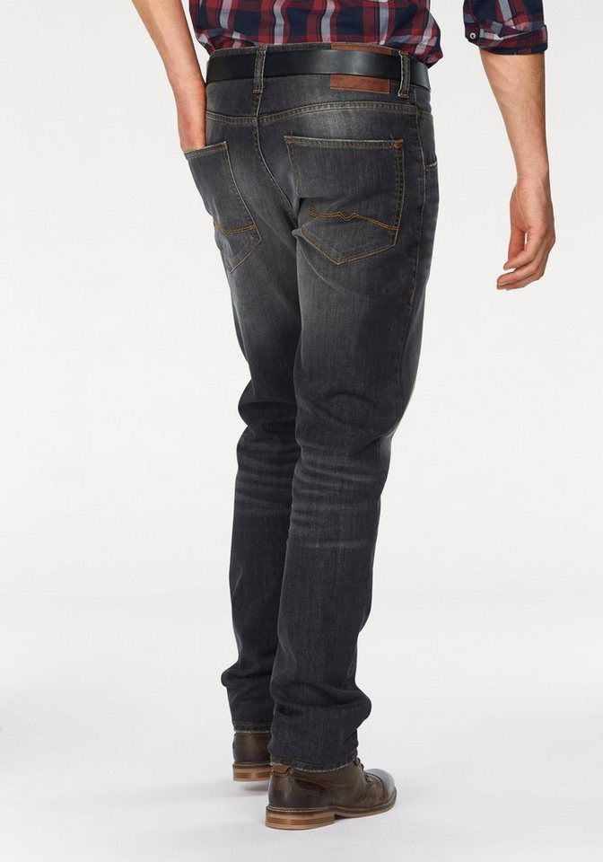 Mustang Regular-fit-Jeans »Michigan« in scratched-grey