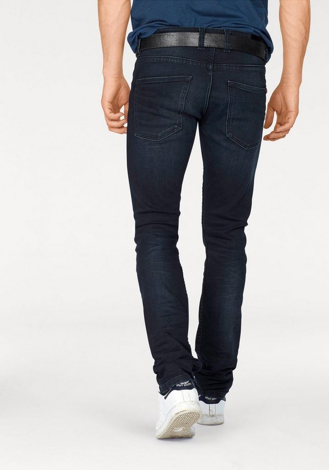 Bruno Banani Slim-fit-Jeans »Jimmy (Stretch)« in blue-black