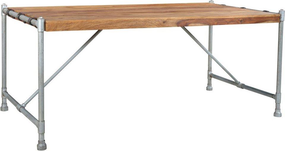 Sit esstisch tube breite 180 cm gestell aus for Esstisch gestell