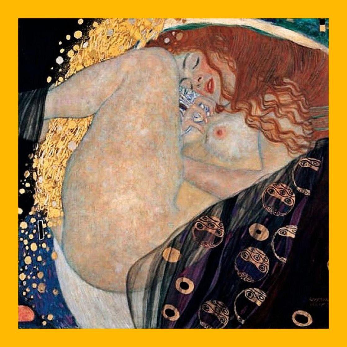 Home Affaire Gerahmtes Bild, »Klimt / Danae«, 76/76/2 cm