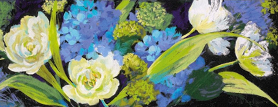 Home Affaire Bild, Kunstdruck, »Nel Whatmore / Spring«, 138/48/1,3 cm in blau/grün