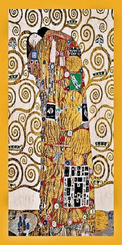 Home Affaire Bild Klimt Die Umarmung 56 106 2 Cm Gerahmt