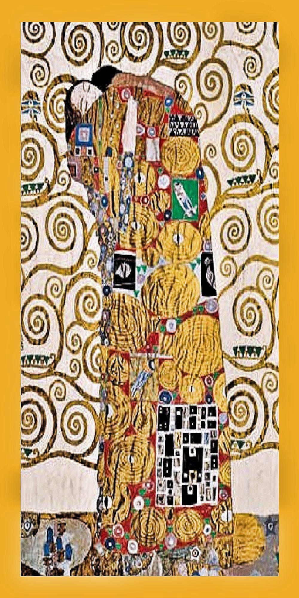 Home Affaire Gerahmtes Bild, »Klimt / Die Umarmung«, 56/106/2 cm
