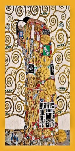 Home affaire Bild »Klimt / Die Umarmung«, 56/106/2 cm, gerahmt