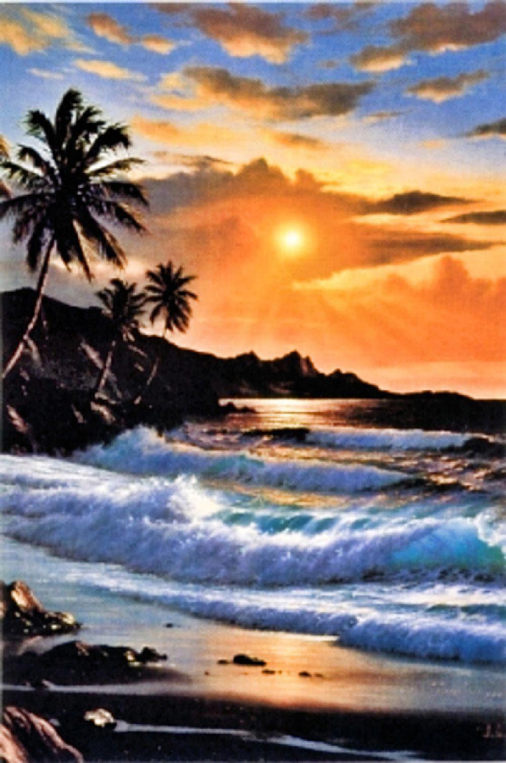 Home Affaire Deco Panel, »Tropical splendour«, 59/89/2 cm