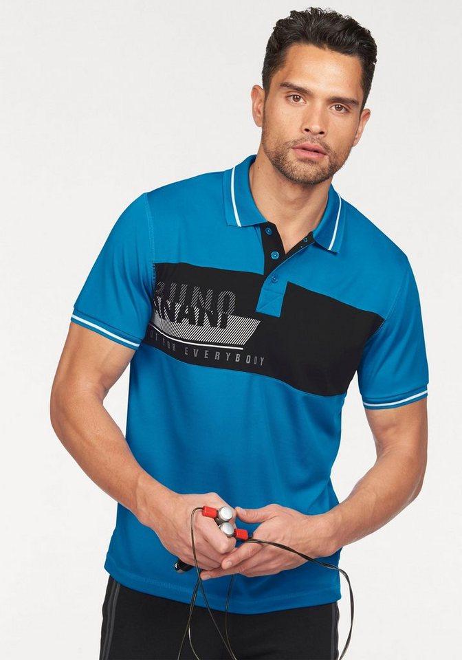 Bruno Banani Poloshirt in blau