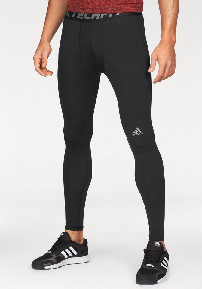 adidas Performance Funktionstights »TECHFIT BASE TIGHT« in schwarz