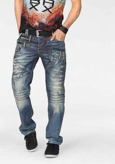Cipo & Baxx Loose-fit-Jeans, mit vielen Details Sale Angebote Schwarzbach