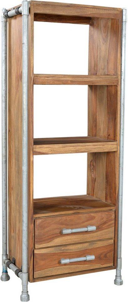 sit regal tube h he 171 cm gestell aus wasserrohren online kaufen otto. Black Bedroom Furniture Sets. Home Design Ideas