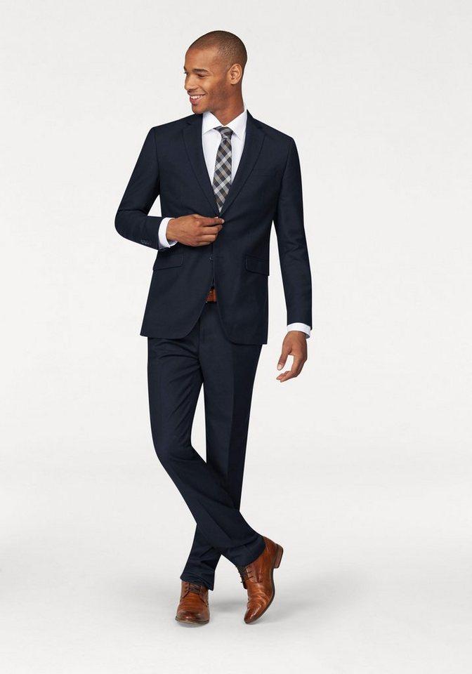 Class International Anzug in blau