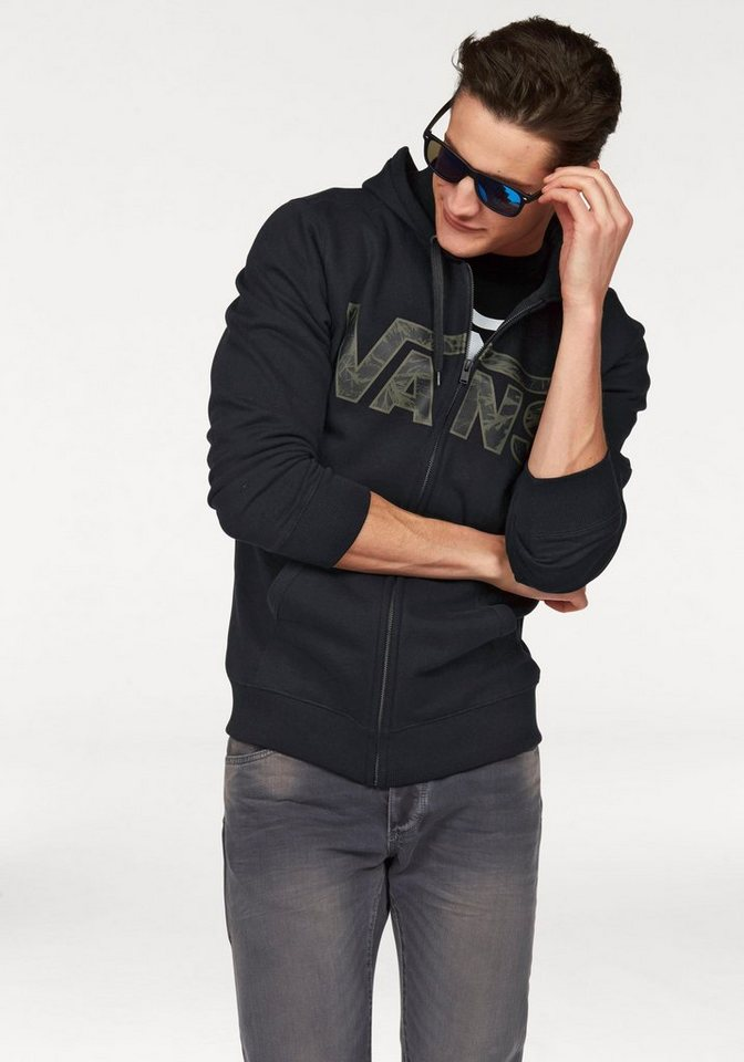 Vans Sweatjacke in schwarz