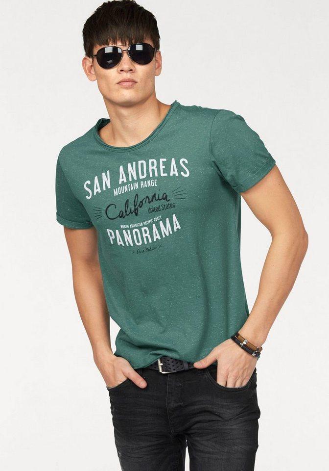 John Devin T-Shirt in grün