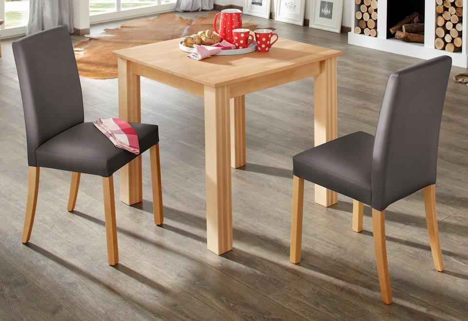 home affaire esstisch luisa in 4 gr en kaufen otto. Black Bedroom Furniture Sets. Home Design Ideas