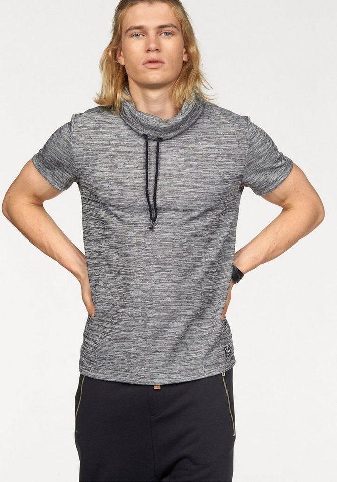 John Devin T-Shirt in anthrazit-meliert