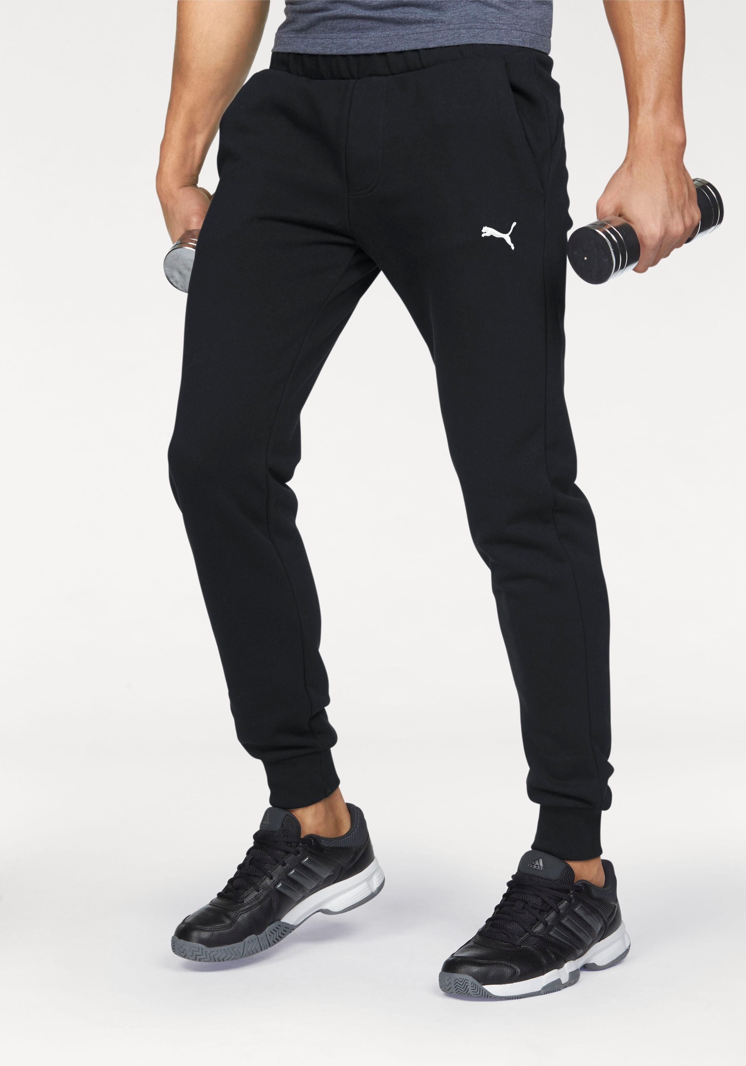 puma jogginghose weiss