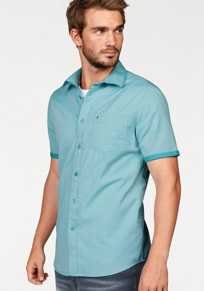 Rhode Island Kurzarmhemd in mint