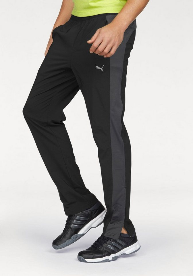 PUMA Sporthose »Vent Stretch Woven Pant« in schwarz