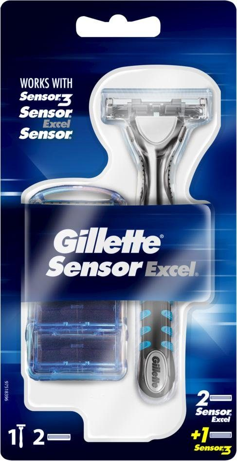 Gillette, »SensorExcel«, Rasierer