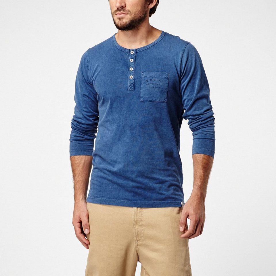 O'Neill T-Shirt langärmlig »Grandad up« in Marineblau