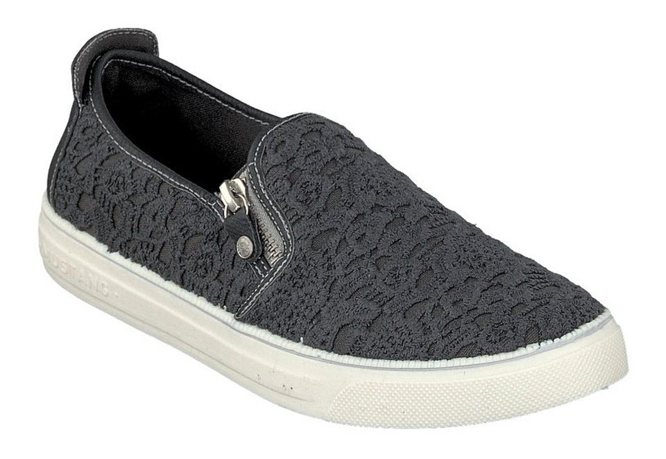 MUSTANG SHOES Slipper in stein