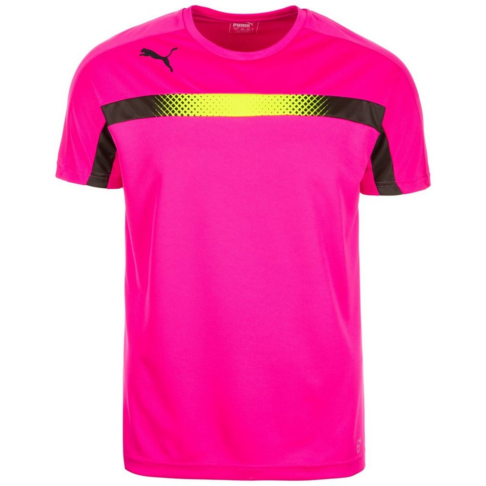 PUMA IT evoTRG Tricks Trainingsshirt Herren in pink / neongelb