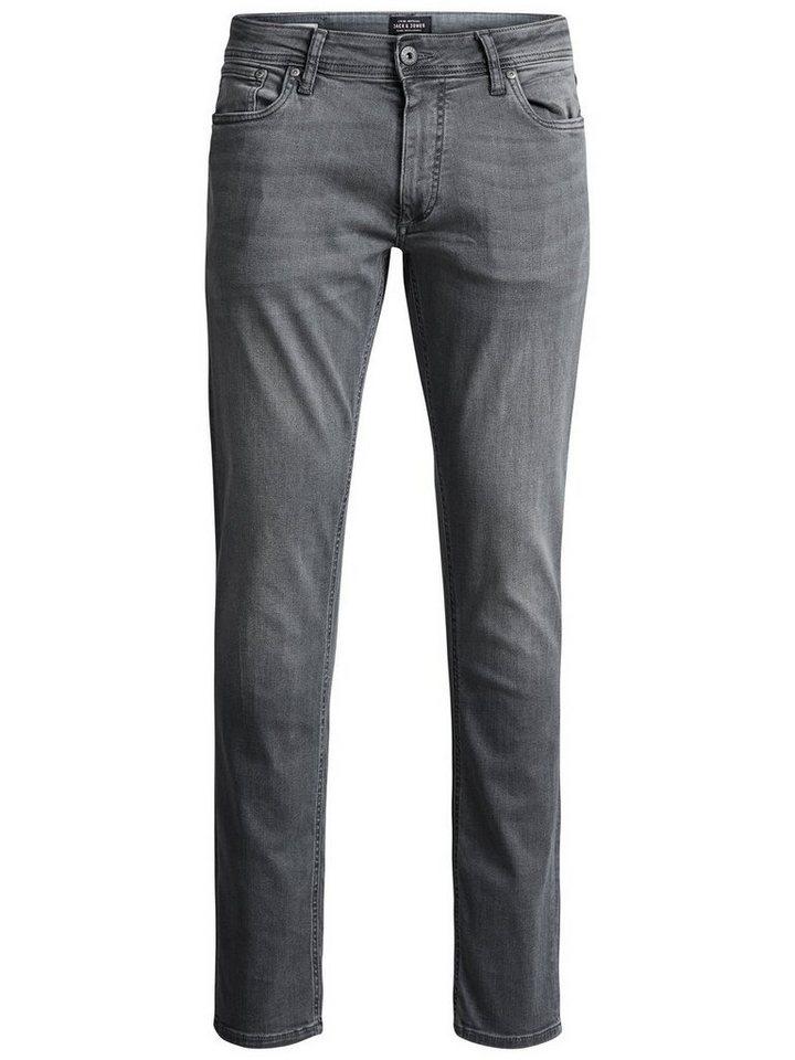 Jack & Jones Tim Original AM 010 Slim Fit Jeans in Grey Denim