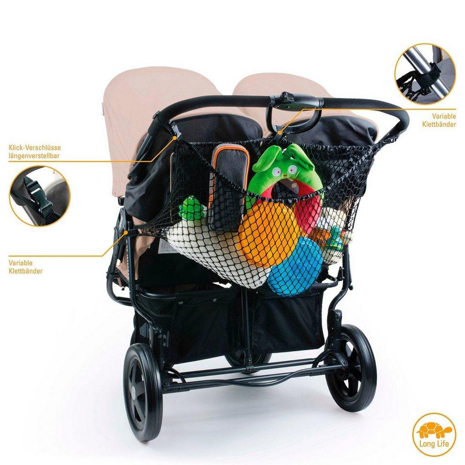 DIAGO XL Einkaufsnetz für Kinderwagen in NoColor