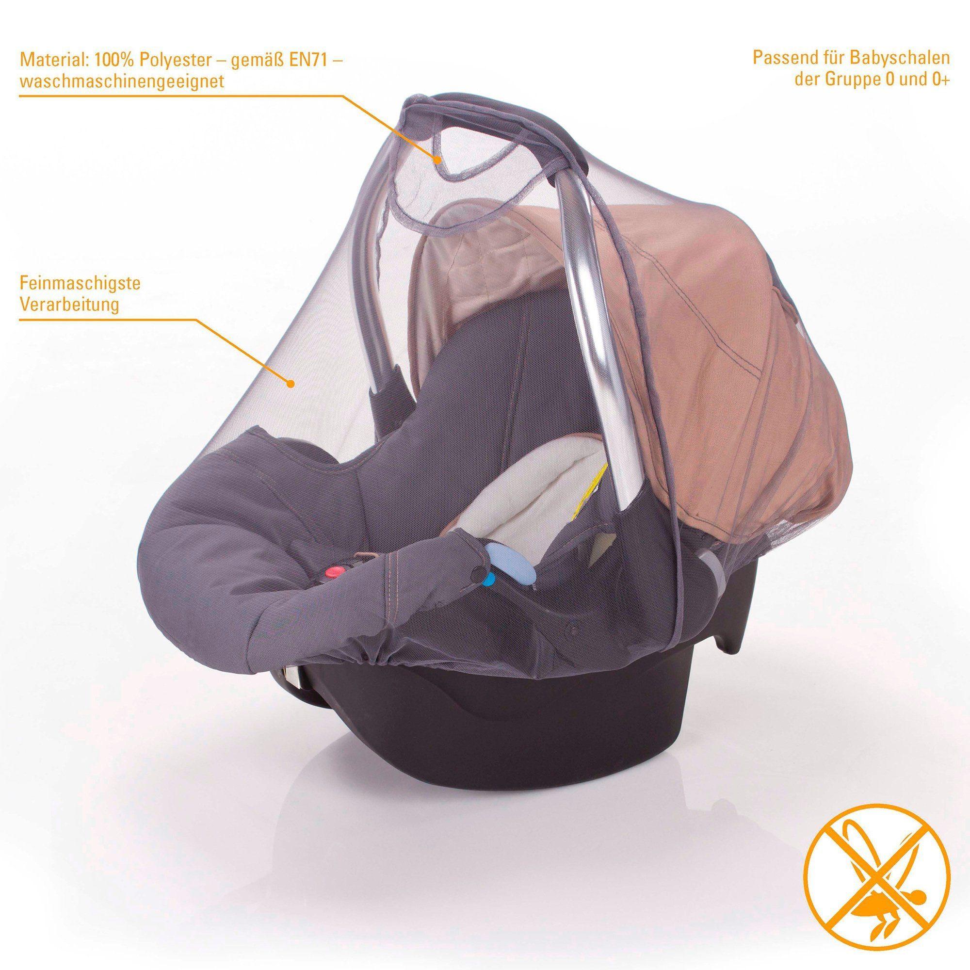 DIAGO Moskitonetz für Babyschale