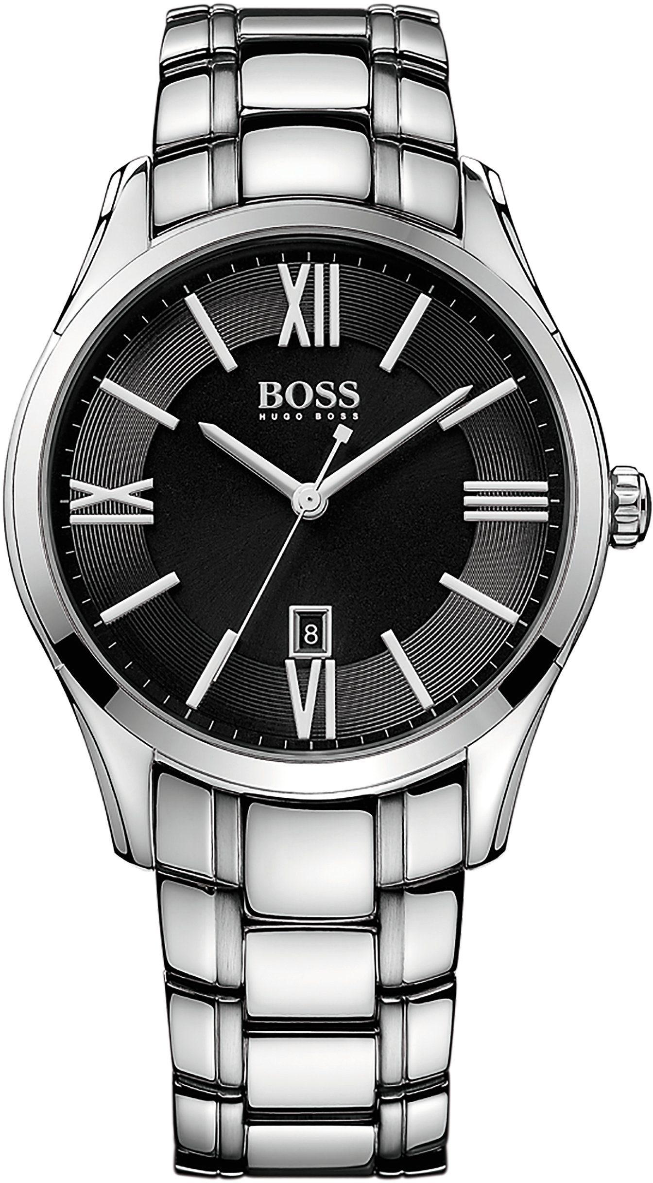 Boss Quarzuhr »AMBASSADOR ROUND, 1513025«