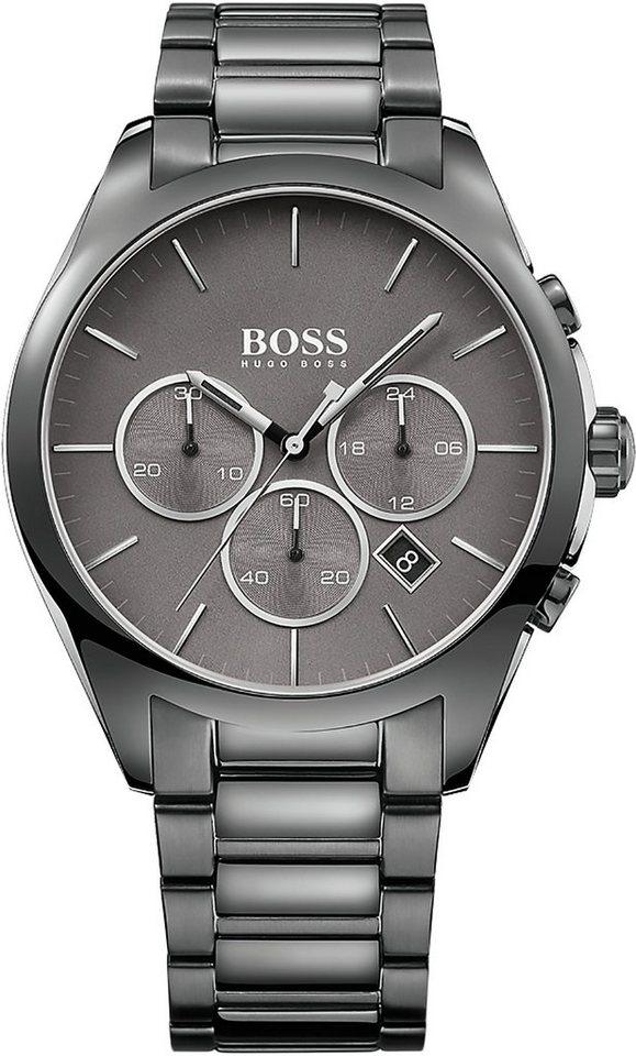 Boss Chronograph »ONYX, 1513364« in grau