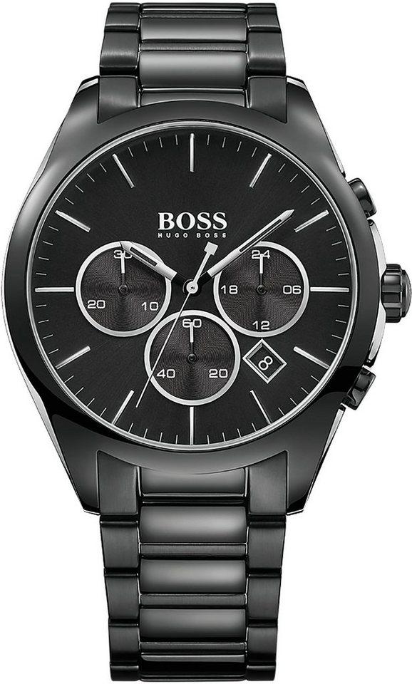 Boss Chronograph »ONYX, 1513365« in schwarz