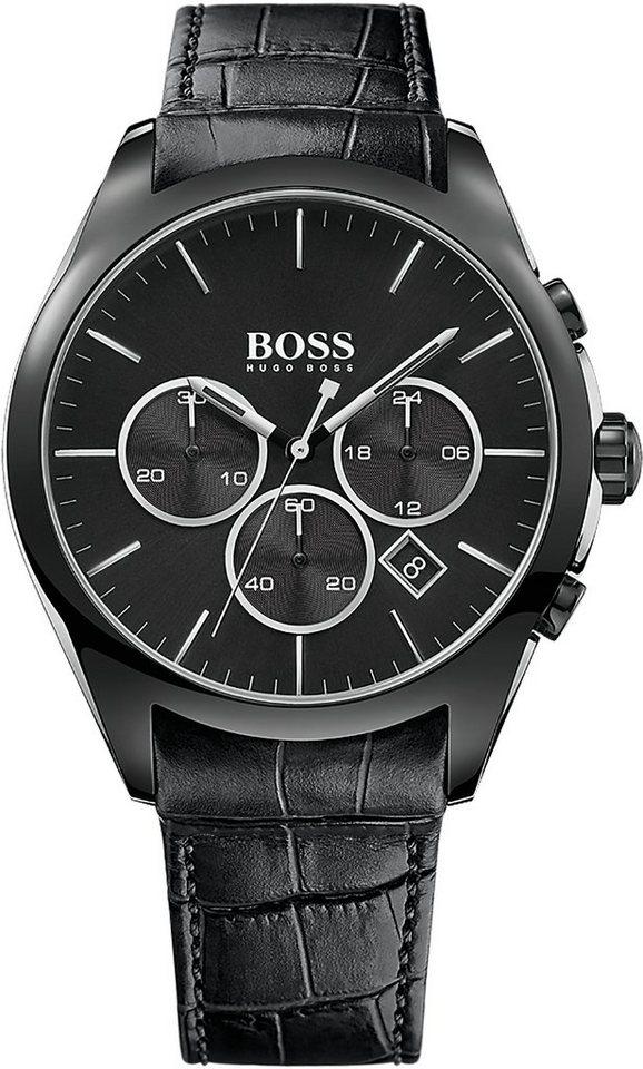 Boss Chronograph »ONYX, 1513367« in schwarz