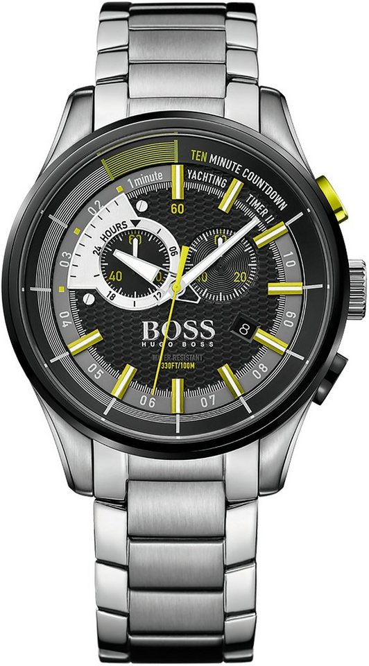 Boss Chronograph »YACHTING TIMER II, 1513336« in silberfarben