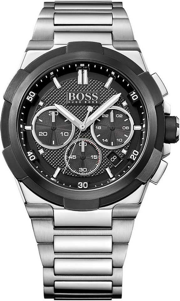 Boss Chronograph »SUPERNOVA, 1513359« in silberfarben