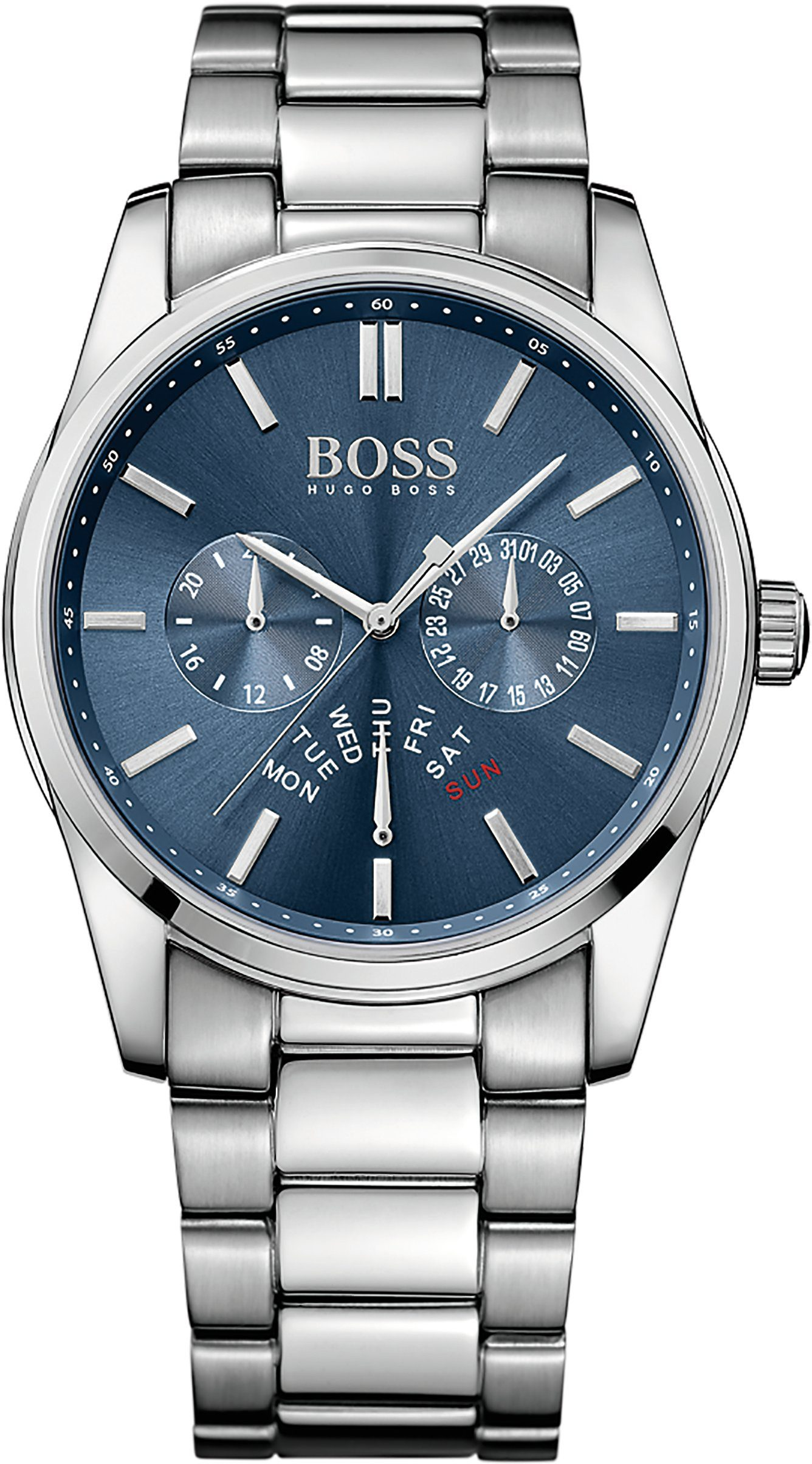 Boss Multifunktionsuhr »HERITAGE, 1513126«
